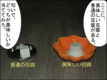 美味しい豆腐-2コマ