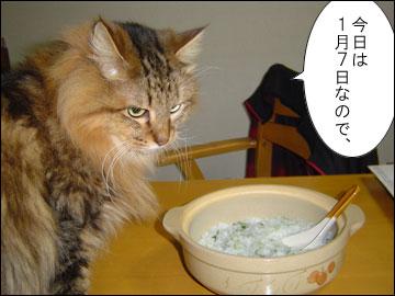 七草粥の日-1コマ