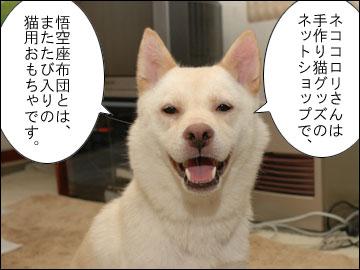 悟空座布団-2コマ