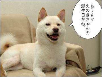 えのきちゃんの誕生日-1コマ