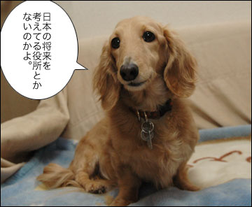 日本のことを考えるお役所-1コマ