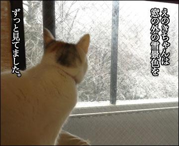 雪の日のニャンコ-3コマ